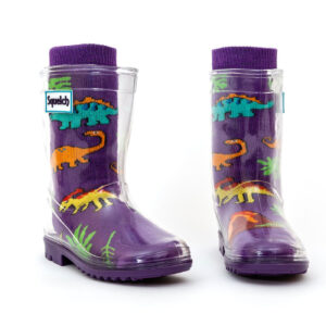 Squelch Wellies Dino Sock