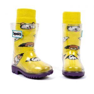 Squelch Wellies Dog Sock