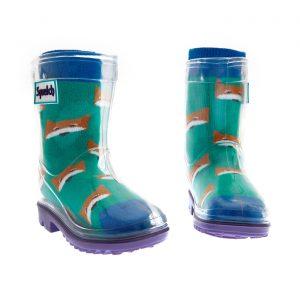 Squelch Wellies Fox Sock