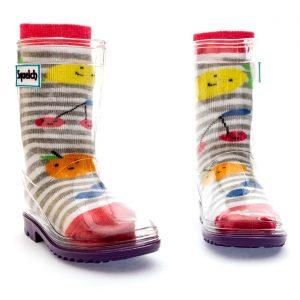 Squelch Wellies Fruit Sock