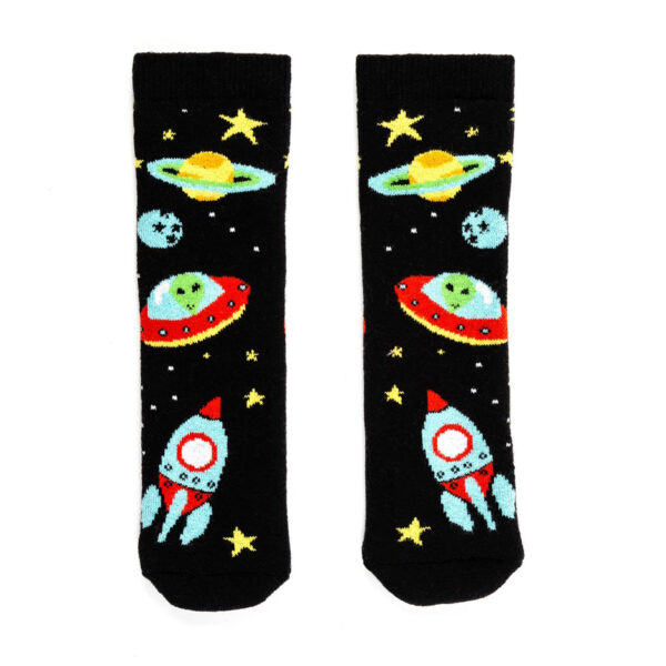 Squelch Wellies Space Sock