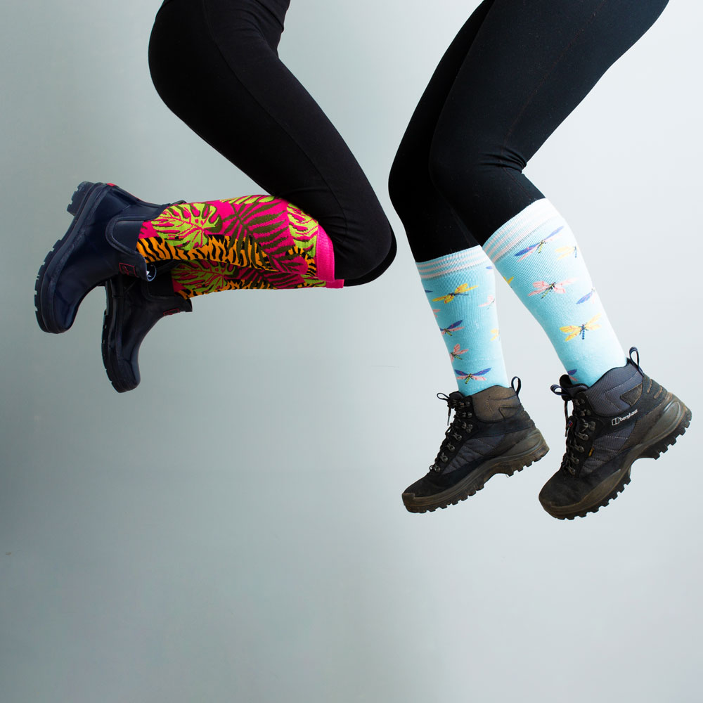 Squelch Wellies Adult Socks