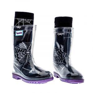 Cobwebs Halloween Socks