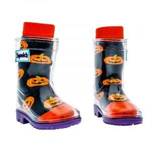 Tots Pumkin Halloween Socks